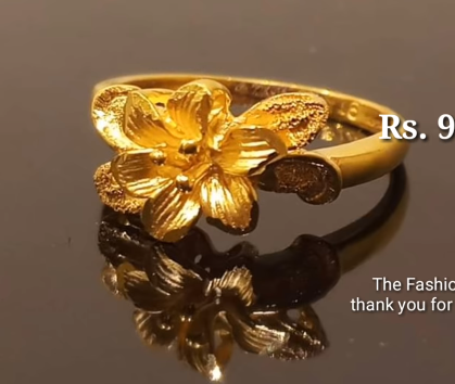 Latest Light Weight Gold Ring Designs17