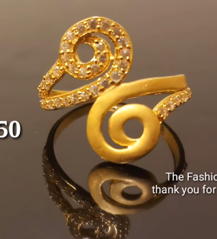 Latest Light Weight Gold Ring Designs18