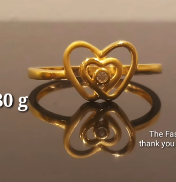 Latest Light Weight Gold Ring Designs19