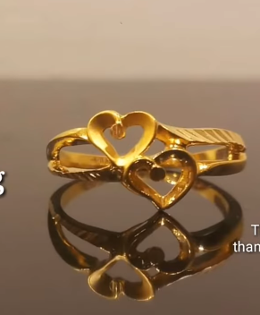 Latest Light Weight Gold Ring Designs2