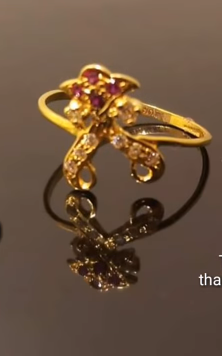 Latest Light Weight Gold Ring Designs3