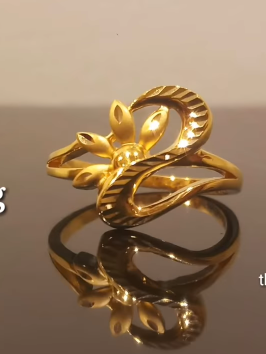 Latest Light Weight Gold Ring Designs4