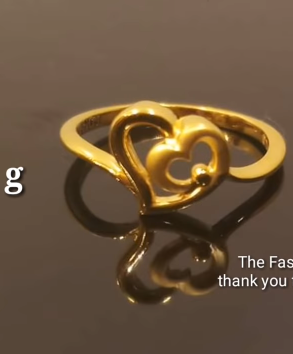 Latest Light Weight Gold Ring Designs7