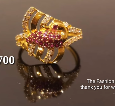 Latest Light Weight Gold Ring Designs8