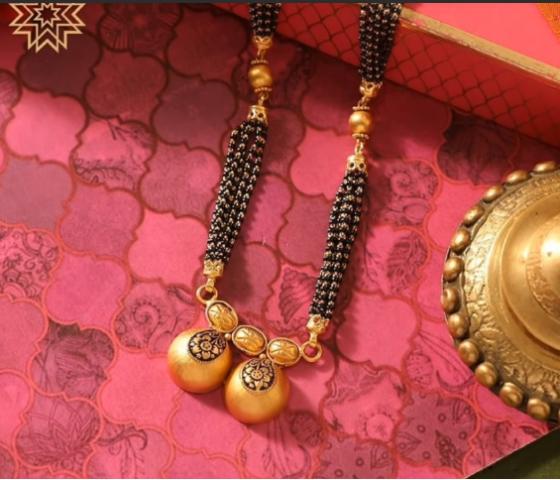 Latest Long Gold Mangalsutra Designs19