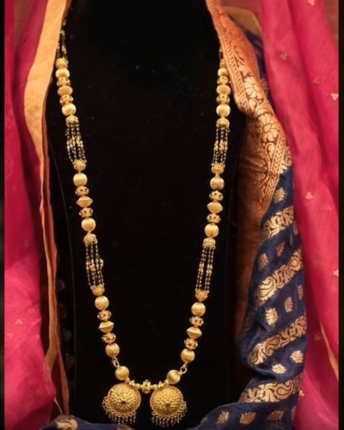 Latest Long Gold Mangalsutra Designs22