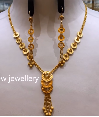 Light Weight Gold Necklace Sets23