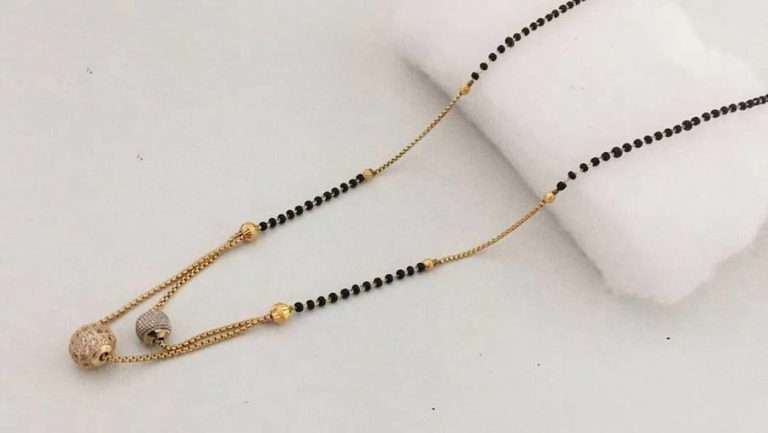 Mangalsutra Designs for the New Age Bride15