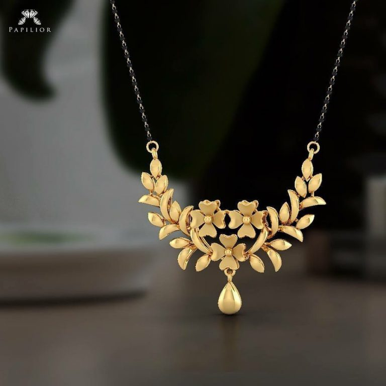 Mangalsutra Designs for the New Age Bride17