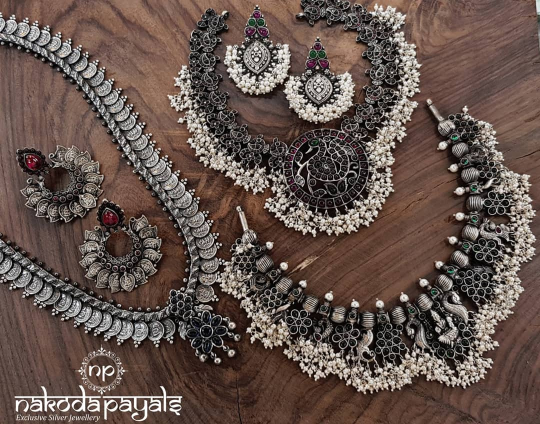Mind Blowing Pure Silver Necklace Designs1