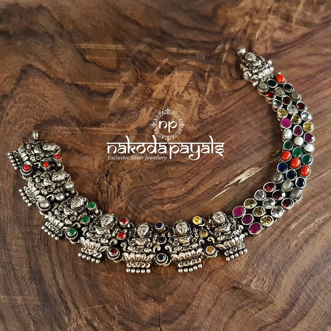 Mind Blowing Pure Silver Necklace Designs14