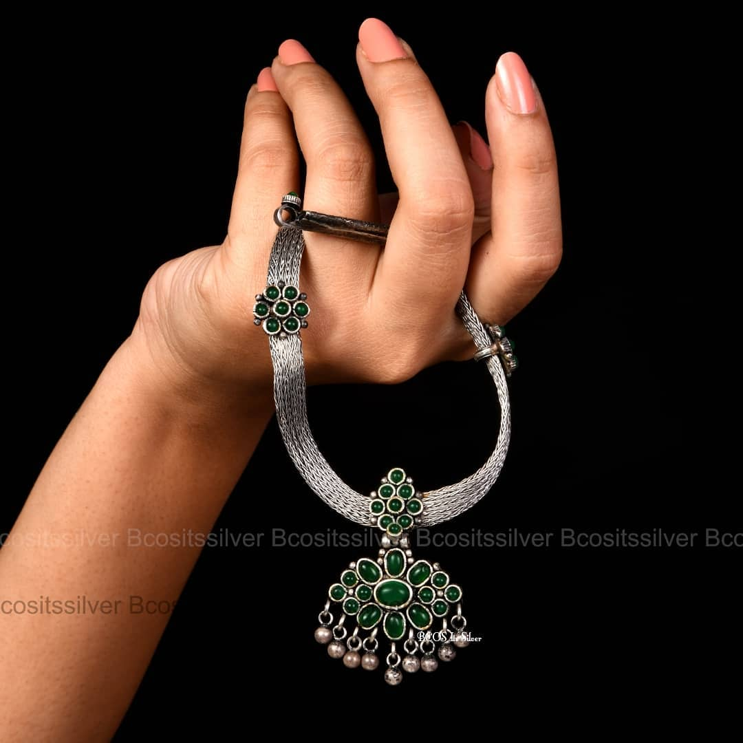 Mind Blowing Pure Silver Necklace Designs5