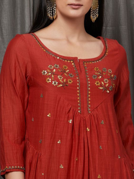 stylish kurti design