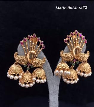 New Gold Daily Wear Earrings Patterns10