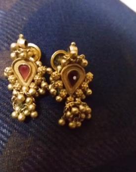 New Gold Daily Wear Earrings Patterns16