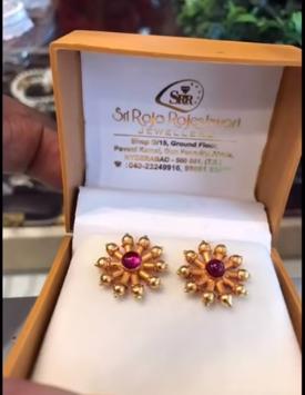 New Gold Daily Wear Earrings Patterns3