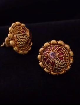 New Gold Daily Wear Earrings Patterns4