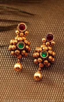 New Gold Daily Wear Earrings Patterns5