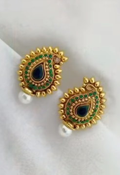 New Gold Daily Wear Earrings Patterns6