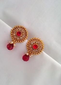 New Gold Daily Wear Earrings Patterns8