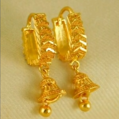 New Trendy Gold Hoops and Drop13