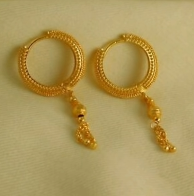 New Trendy Gold Hoops and Drop14