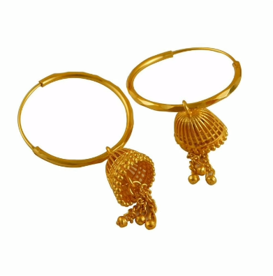 New Trendy Gold Hoops and Drop16