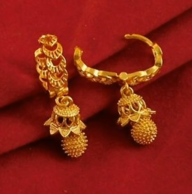 New Trendy Gold Hoops and Drop17