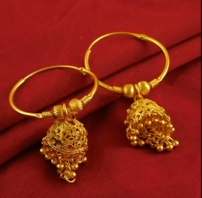 New Trendy Gold Hoops and Drop19