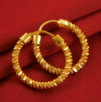 New Trendy Gold Hoops and Drop21