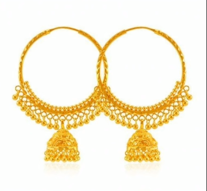 New Trendy Gold Hoops and Drop3