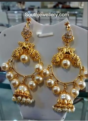 Trendy Gold Earring Designs16
