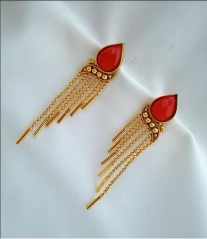 Trendy Gold Earring Designs17