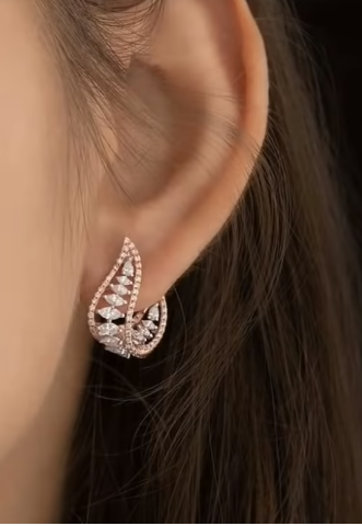 Trendy Gold Earring Designs6