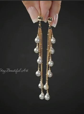 Trendy Gold Earring Designs7
