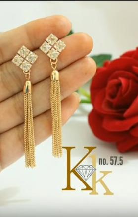 Trendy Gold Earring Designs8