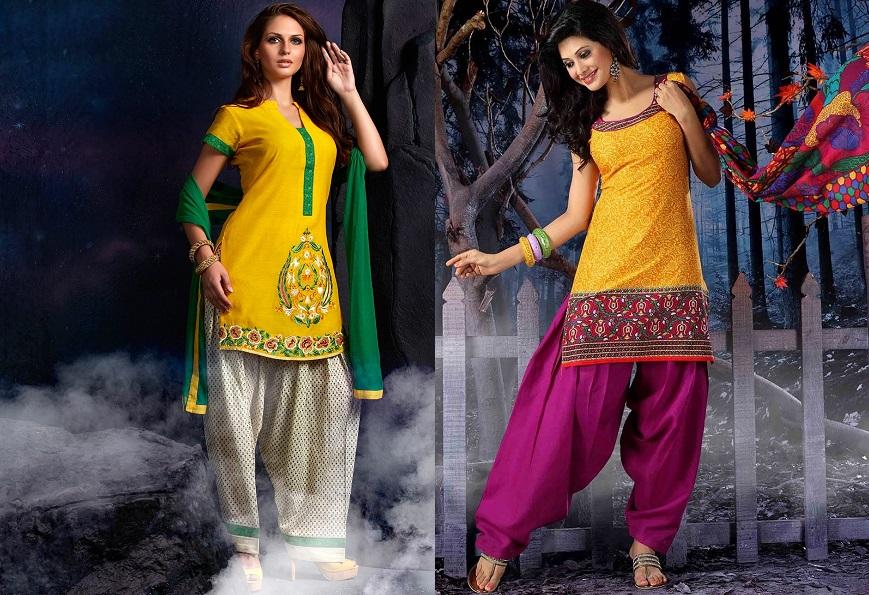 patiala and kurti design