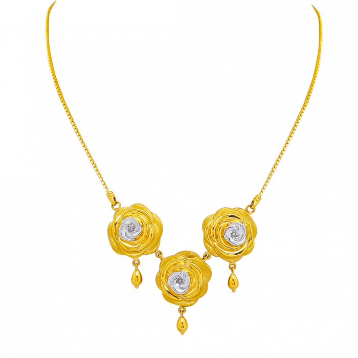 16 Gram Gold Necklace Collections12