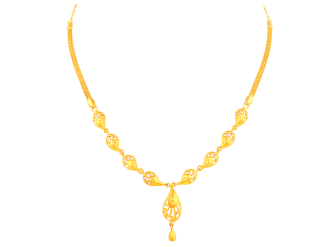 16 Gram Gold Necklace Collections14