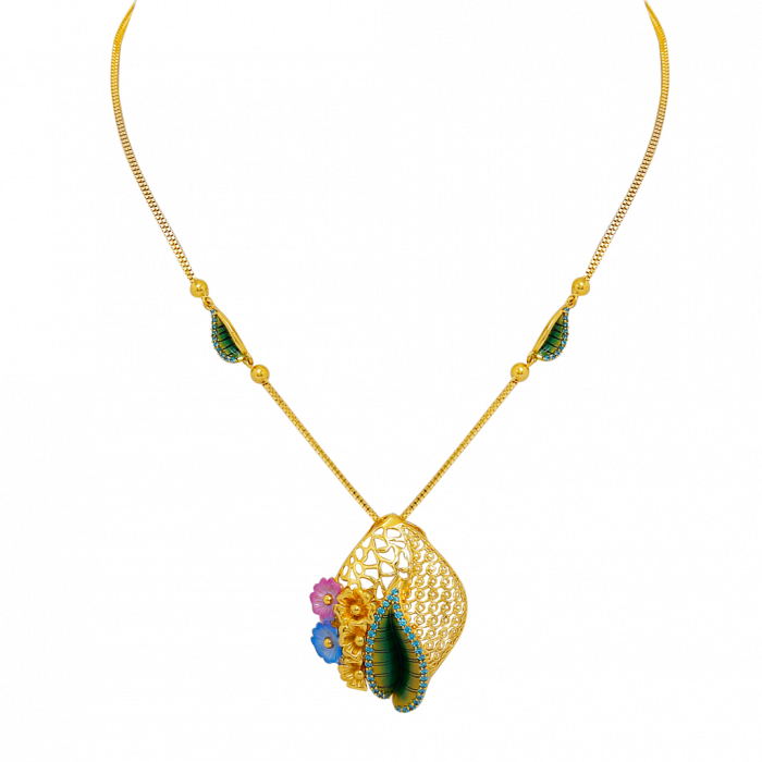 16 Gram Gold Necklace Collections16