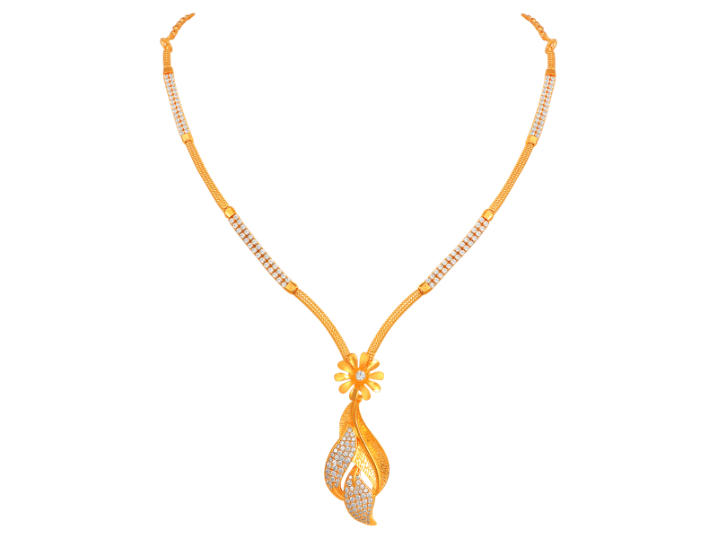 16 Gram Gold Necklace Collections17