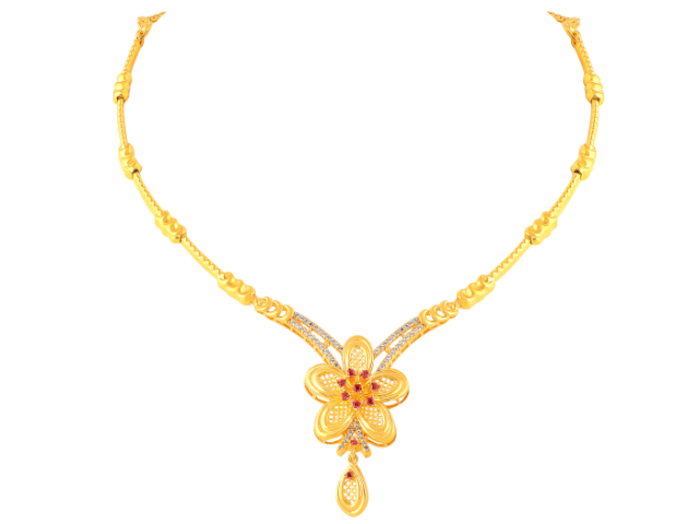 16 Gram Gold Necklace Collections18