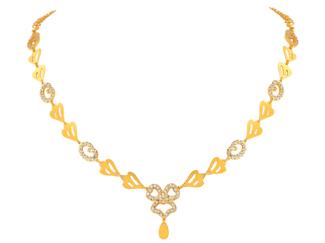 16 Gram Gold Necklace Collections20