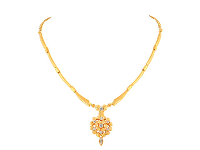 16 Gram Gold Necklace Collections21