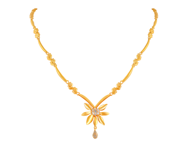 16 Gram Gold Necklace Collections22