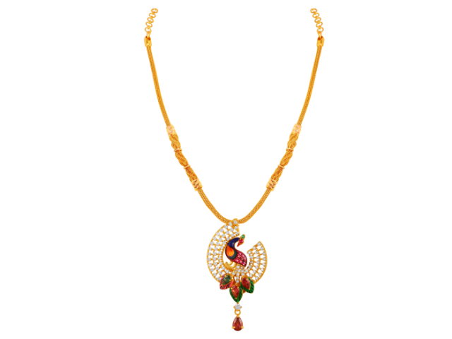 16 Gram Gold Necklace Collections23