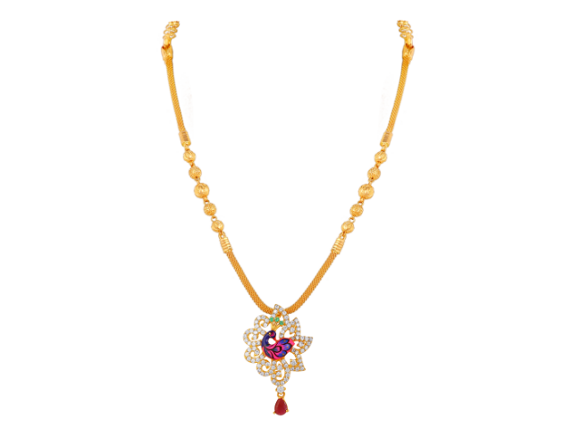 16 Gram Gold Necklace Collections24