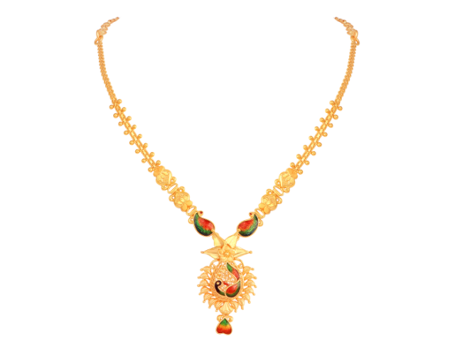 16 Gram Gold Necklace Collections3