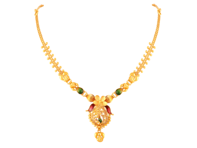 16 Gram Gold Necklace Collections4