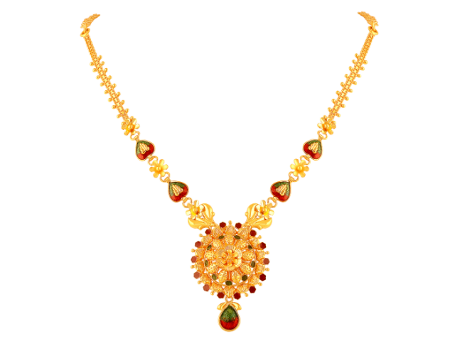 16 Gram Gold Necklace Collections6
